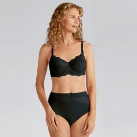 Ensemble lingerie incrustation dentelle, soutien-gorge pour prothèses