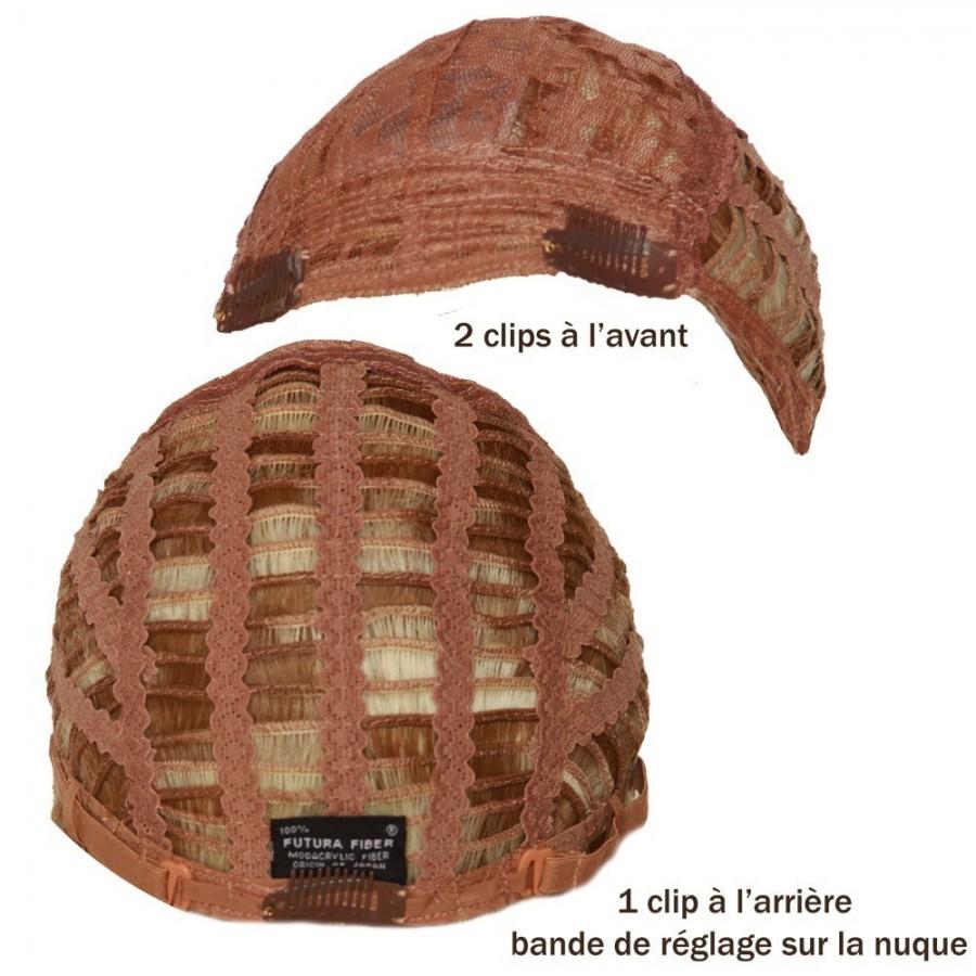 Perruque longue dégradée, fibre thermorésistante