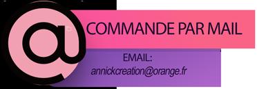 Commande  par mail