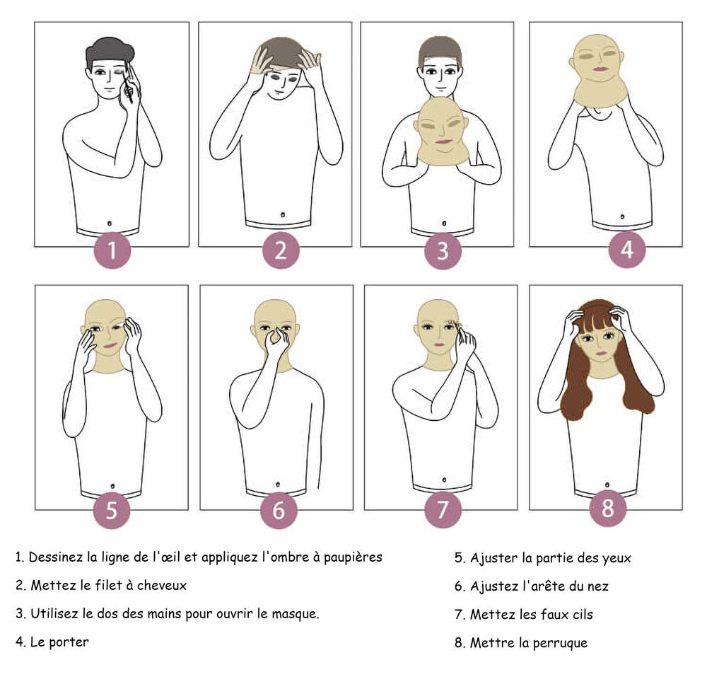 comment mettre son masque
