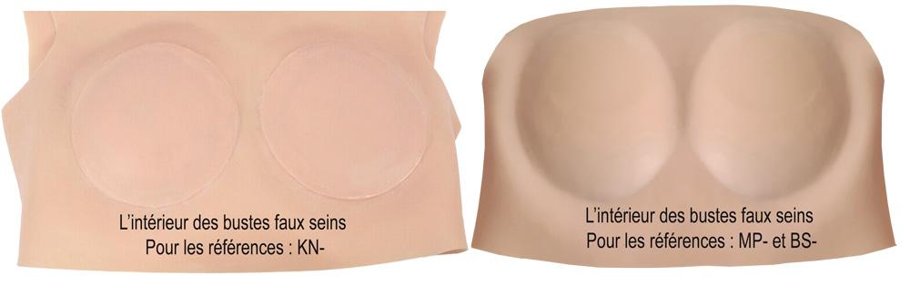Technologie de fabrication de l'intérieur du buste faux seins